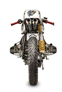 """BMW R80 Cafe Fighter """"Be Good or Be Gone"""" by Tattoo Moto"""