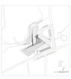 Image 23 of 32 from gallery of Three Ancestors Cultural Museum / Architectural Design Research Institute of SCUT. General Layout