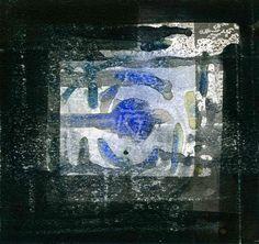 GRISAZUR: Acuarela sobre papel, 16,5x17,5 cm.Mar. 22, 2015