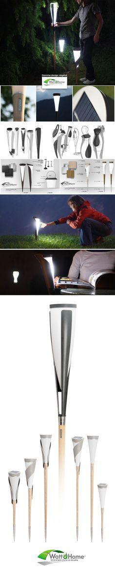 SOLAR LIGHTINGS by IOTA design, via Behance