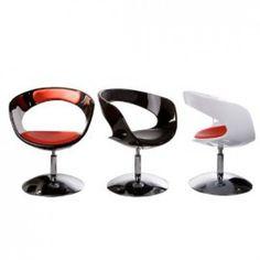 Home Deco - Chair Black/Black- (AC00350BLBL)