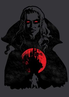 "Displate Poster Inspired by the game ""Castlevania."" I hope you like it! Castlevania Dracula, Castlevania Anime, Castlevania Wallpaper, Dracula Tattoo, Chibi, Lucas Arts, Game Development Company, Gaming Posters, Beautiful Dark Art"