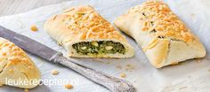 Heerlijke verse foccacia broodjes gevuld met spinazie, geitenkaas en…