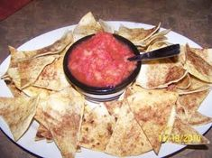 Fruit Salsa With Cinnamon Chips Recipe