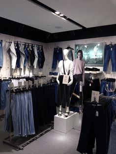 My denim department for model store at Topshop MetroCentre #ocdstandards