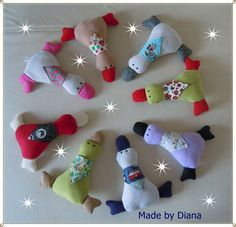 April 2015 Sewing Toys, Baby Sewing, Plush Pattern, Hand Puppets, Fabric Dolls, Pin Cushions, Baby Shower Gifts, Kindergarten, Sewing Patterns