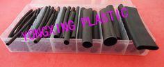 79pcs/box double-wall heat shrink tubing 2.4/3.2/4.8/9.5/12.7/15mm kits shrink ratio 3:1 with glue