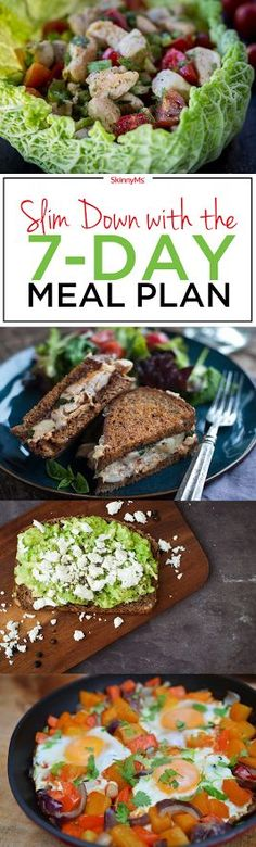 Slim Down with the 7-Day Meal Plan - Let�s get started!