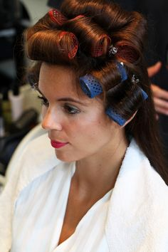 piega capelli lunghi bigodini - Irene Colzi - Cura capelli: ecco i trattamenti che ho provato da Goran Viler #hair & SPA a #Trieste - Irene's Closet