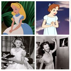 The lovely Kathryn Beaumont! Voice of Wendy (Peter Pan) and Alice (Alice in Wonderland)