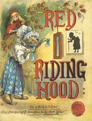 Red Riding Hood Illustrator - R. (Richard) André. Publisher  McLoughlin (1888)