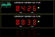 Free Technology for Teachers: The New Classtools Countdown Timer Offers Multiple Timers Set to Music