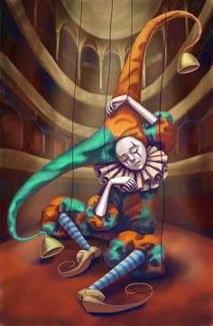 Victor Nizovtsev, Joker Clown, Victorian Bedroom, Send In The Clowns, Circus Art, Clowning Around, Venetian Masks, Shabby Vintage, Alice In Wonderland