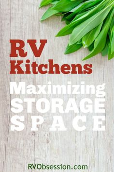Sorting out your RV kitchens storage can be a bit of a nightmare if you're not used to working in a small kitchen. But with these small kitchen storage tips like RV pantry organizers and RV kitchen cabinet organizers you'll be making the most of the limited space you do have. #RVkitchensstorage