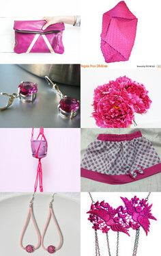 Pink gets hotter! by Elaine on Etsy--Pinned with TreasuryPin.com