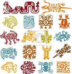 """Vinilos """"antiguo, antigüedad, colección - set - símbolos mexicanos"""" ✓ Amplia selección de los materiales ✓ Ajustaremos el producto a tu medida ✓ ¡Comprueba las opiniones de nuestros clientes!"""