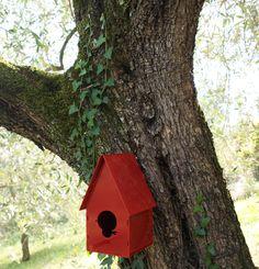 B&B for birds, casetta uccelli, decorazione giardino, house for birds.