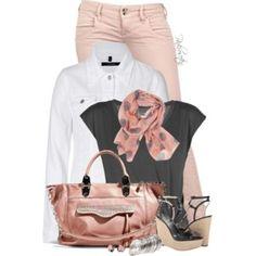 Pastel Colored Denim Jeans