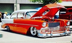 Hot Wheels - Still hard to believe @prorides_terzich built this beast in 2002, ground breaker no doubt! #chevrolet #tri5 #americanmuscle #musclecar #stance #hotrod #carporn #prostreet #chopped #lowfastfamous