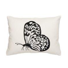 Butterfly Linen Pillow