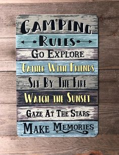 Diy Camping, Camping Rules, Camping Guide, Camping Checklist, Camping Essentials, Camping Survival, Camping Meals, Family Camping, Tent Camping