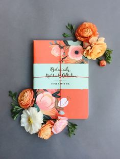Rifle Paper Co Botanicals Notebook collection | barefootstyling.com