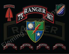 US Army Special Operations Command Rangers