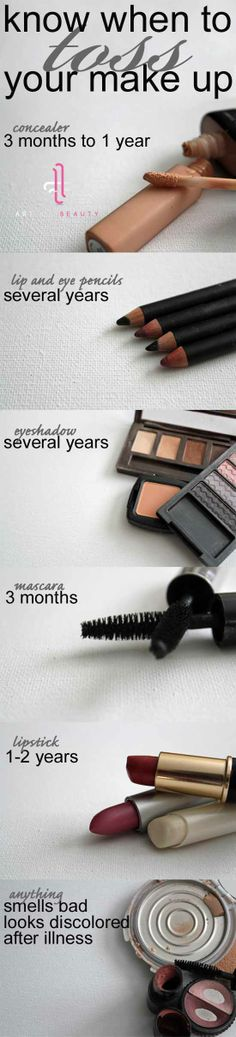 How long does makeup last? Know when to toss your makeup