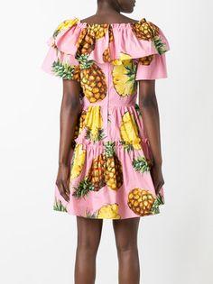 Image result for pineapple print dress