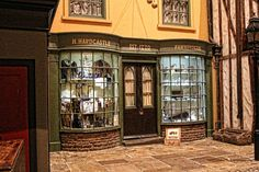 Museum, Shop, Jahrgang, Alte, Viktorianischen, York