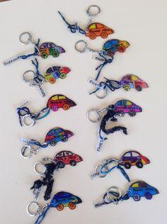 Porte – clés en plastique fou et carte pour la fête des pères | La Maternelle De Wendy