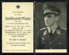 orig WK2 STERBEBILD - DEATH CARD - LUFTWAFFE - OFFIZIER - FLIEGERTOD - WIEN 1941