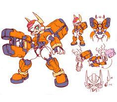 Megaman ZX - Model FX