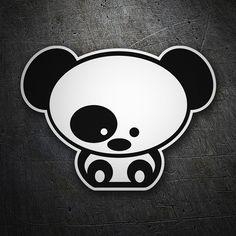 Pegatinas: Baby Panda JDM #coche #pegatina #sticker