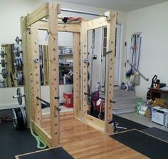 DIY Power Rack For Your Home Gym