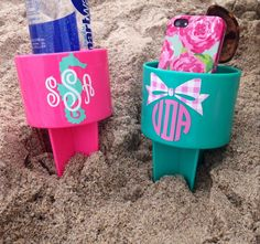Monogrammed Spiker perfect for your next by GinsMonogramShoppe, $10.00
