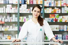 Our work for Pharma Plus in Jordan ( Logo Design, Interior Design, Signage, Uniform Design)