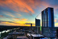 breathtaking Austin sunset