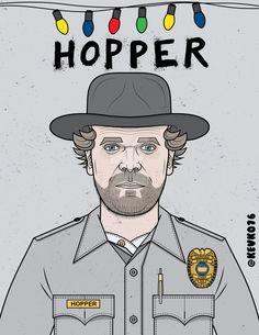 Jim Hopper - Stranger Things by kevko76 on DeviantArt