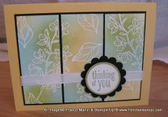 Stamp & Scrap with Frenchie: Peaceful Petals Emboss or NOT pear pizzaz, so saffron & pool party ink