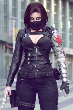Winter Soldier rule 63. Pinning this because of the arm