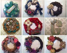 Elsie's Creative Design has Wreaths ON SALE @Etsy. https://www.etsy.com/shop/ElsiesCreativeDesign #wreaths, #masonjardecor #woodnburlapframes #rustic #vintage #shabbychic #etsy #mothersdaygift #spring #summer #burlap #decomesh #wood #masonjars #wedding #weddingdecor #weddinggifts