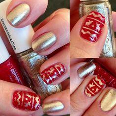 Es wird weihnachtlich 🎄😄 #essie 338 #jigglehijigglelow(2 Schichten) und 341 #jumpinmyjumpsuit (1 Schicht) mit #nailvinyls von #svenjasnailart 💅 #essiedeutschland #essieliebe #nailpolish #nagellack #naillacquer#instanails #nailswag #nailsdone #manicure #notd #nailporn #nailsoftheday #nails #nägel #instapic #nailsofinstagram #nagellackliebe #nailpolishlover #nailpolishlove #nailart #nailinspiration #reindeer #rentier