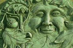 mysterious green | greenman