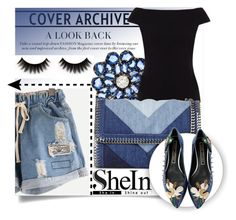 """""""SHEIN"""" by amilasahbazovic ❤ liked on Polyvore featuring Bronia, People Tree, STELLA McCARTNEY and Marc Jacobs"""