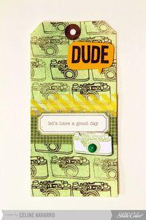 Dude! Card by celine navarro at @Studio Calico