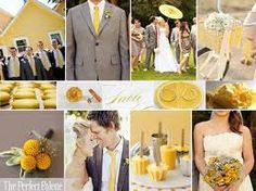 Pulling in accents of yellow.  Check out the parasol :)