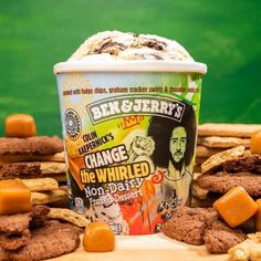 I've teamed up with Ben & Jerry's to serve up joy on the journey to justice! Today, we're excited to introduce Change the Whirled, a new non-dairy flavor that hits shelves in early-2021! 100% of my proceeds will go to Know Your Rights Camp with matching support from Ben & Jerry's.