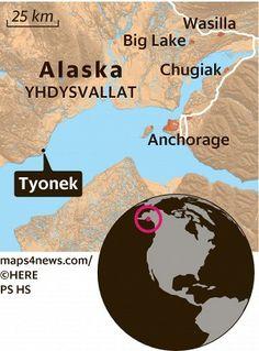Alaskasta ole vieläkään yhtä tarkkoja karttoja kuin vaikkapa Irakista, jossa Yhdysvaltain armeija on tarvinnut niitä.