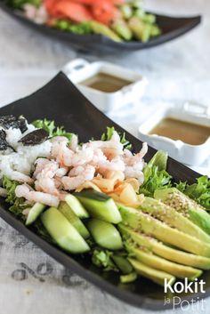 Kokit ja Potit -ruokablogi: Sushisalaatti